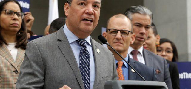 Alex Padilla will become California's first Latino secretary of state