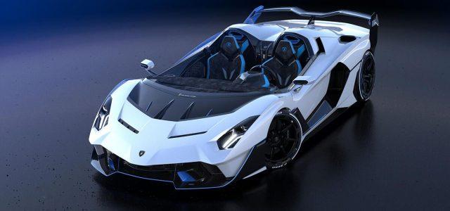 Lamborghini SC20 one-off has no windows, roof or windshield