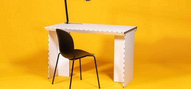 Stykka StayTheF***Home Cardboard Desk Review: Poor Form