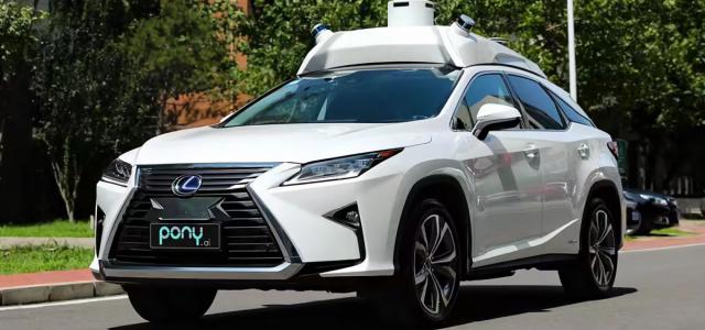 Pony.ai raises $100 million more to advance its autonomous vehicle tech