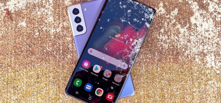 Galaxy S21 drop test: Samsung's newest phones didn't last long