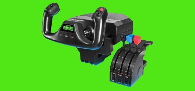 5 Best HOTAS Controllers for Microsoft Flight Simulator 2020: Logitech, Thrustmaster, PXN