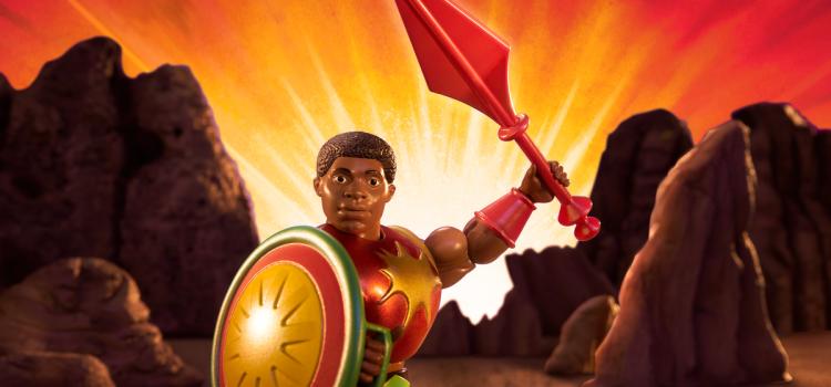 He-Man gets a new partner: Sun-Man, a pioneering Black superhero toy